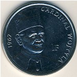 Congo Democratic Repablic, 1 franc, 2004