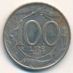 Италия, 100 лир (1993–1999 г.)
