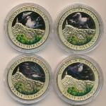 Остров Святой Елены, Набор монет (2013 г.)