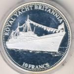 Конго, Демократическая республика, 10 франков (2001 г.)