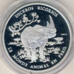 Конго, 1000 франков (2004 г.)