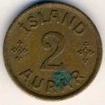 Исландия, 2 эйре (1940–1942 г.)