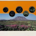 Исландия, Набор монет (2000 г.)