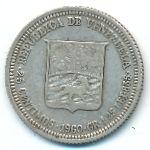Венесуэла, 25 сентимо (1960 г.)