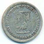 Венесуэла, 50 сентимо (1954 г.)