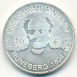 Финляндия, 10 евро (2004 г.)