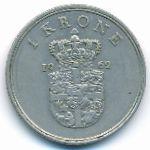 Дания, 1 крона (1960–1971 г.)