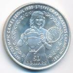 Ниуэ, 50 долларов (1988 г.)