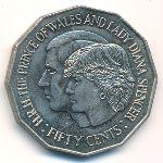 Австралия, 50 центов (1981 г.)