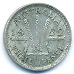 Австралия, 3 пенса (1949–1952 г.)