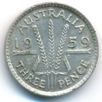 Австралия, 3 пенса (1959 г.)