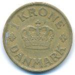 Дания, 1 крона (1925–1926 г.)