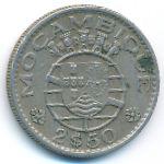 Мозамбик, 2,5 эскудо (1952–1965 г.)