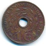 Нидерландская Индия, 1 цент (1936–1945 г.)