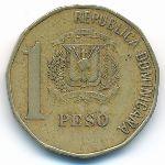 Доминиканская республика, 1 песо (1992–2008 г.)