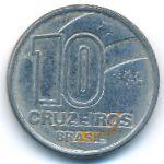 Бразилия, 10 крузейро (1991 г.)