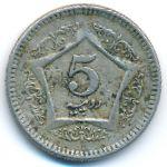 Пакистан, 5 рупий (2003–2005 г.)