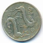 Кипр, 2 цента (1991–2004 г.)