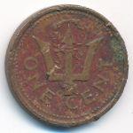 Барбадос, 1 цент (1986–1991 г.)