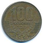 Коста-Рика, 100 колон (2006–2007 г.)