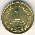 Paraguay, 1 centimo, 1944–1950