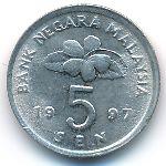 Малайзия, 5 сен (1997–2011 г.)