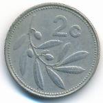 Мальта, 2 цента (1993–2005 г.)
