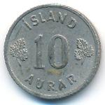 Исландия, 10 эйре (1946–1969 г.)