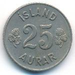 Исландия, 25 эйре (1958 г.)