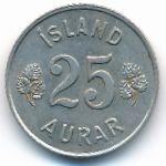 Исландия, 25 эйре (1965 г.)