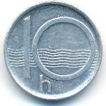 Чехия, 10 гелеров (1995 г.)