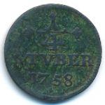 Вид-Рункель, 1/4 стюбера (1758 г.)