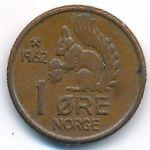 Норвегия, 1 эре (1958–1972 г.)