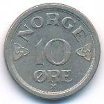Норвегия, 10 эре (1953–1957 г.)