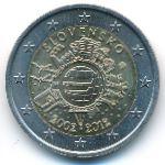 Словакия, 2 евро (2012 г.)