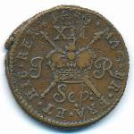 Ирландия, 1 шиллинг (1689 г.)