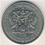 Saint Christopher-Nevis-Anguilla, 4 dollars, 1970