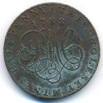 Великобритания, 1/2 пенни (1788 г.)