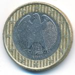 Германия, 1 евро (2002 г.)