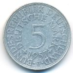 ФРГ, 5 марок (1957–1974 г.)