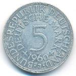 ФРГ, 5 марок (1960–1973 г.)
