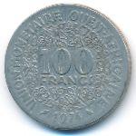 Западная Африка, 100 франков (1967–2014 г.)