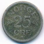 Норвегия, 25 эре (1952–1957 г.)