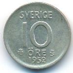 Швеция, 10 эре (1952–1962 г.)