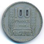 Алжир, 100 франков (1950–1952 г.)