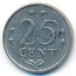 Антильские острова, 25 центов (1970–1984 г.)