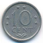 Антильские острова, 10 центов (1975–1984 г.)