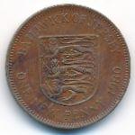 Джерси, 1 новый пенни (1971–1980 г.)