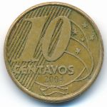 Бразилия, 10 сентаво (2004 г.)