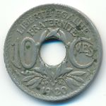 Франция, 10 сентим (1919–1938 г.)
